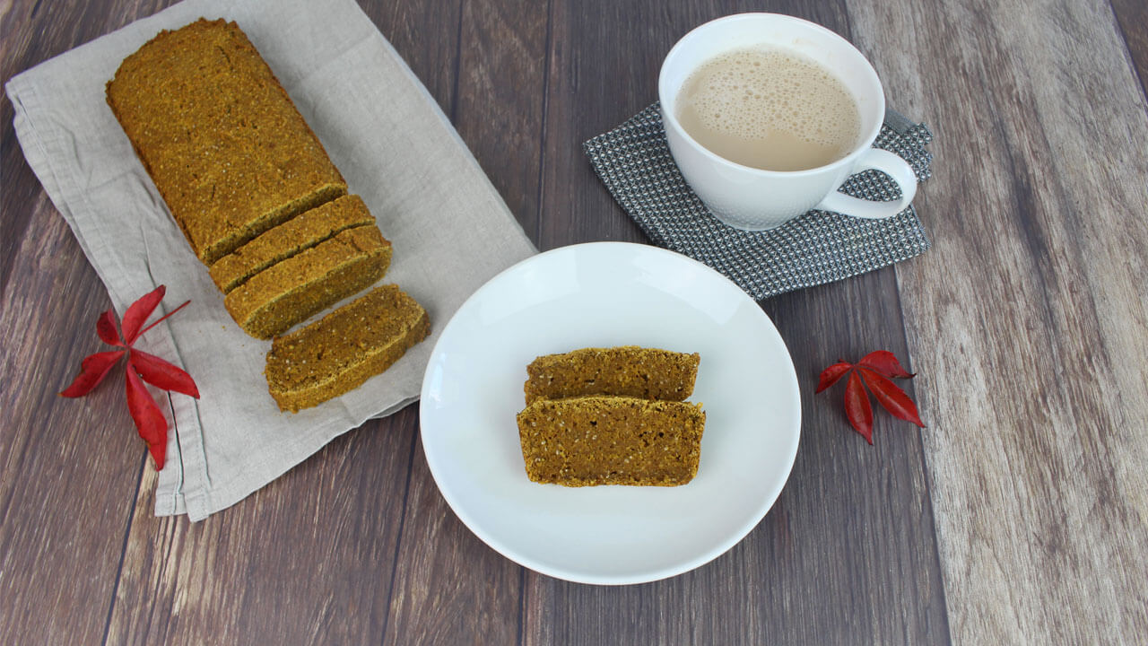 Pumpkin Bread i gruppen Recept / Sötsaker hos Green Warrior (recept_2018-10-23-2)