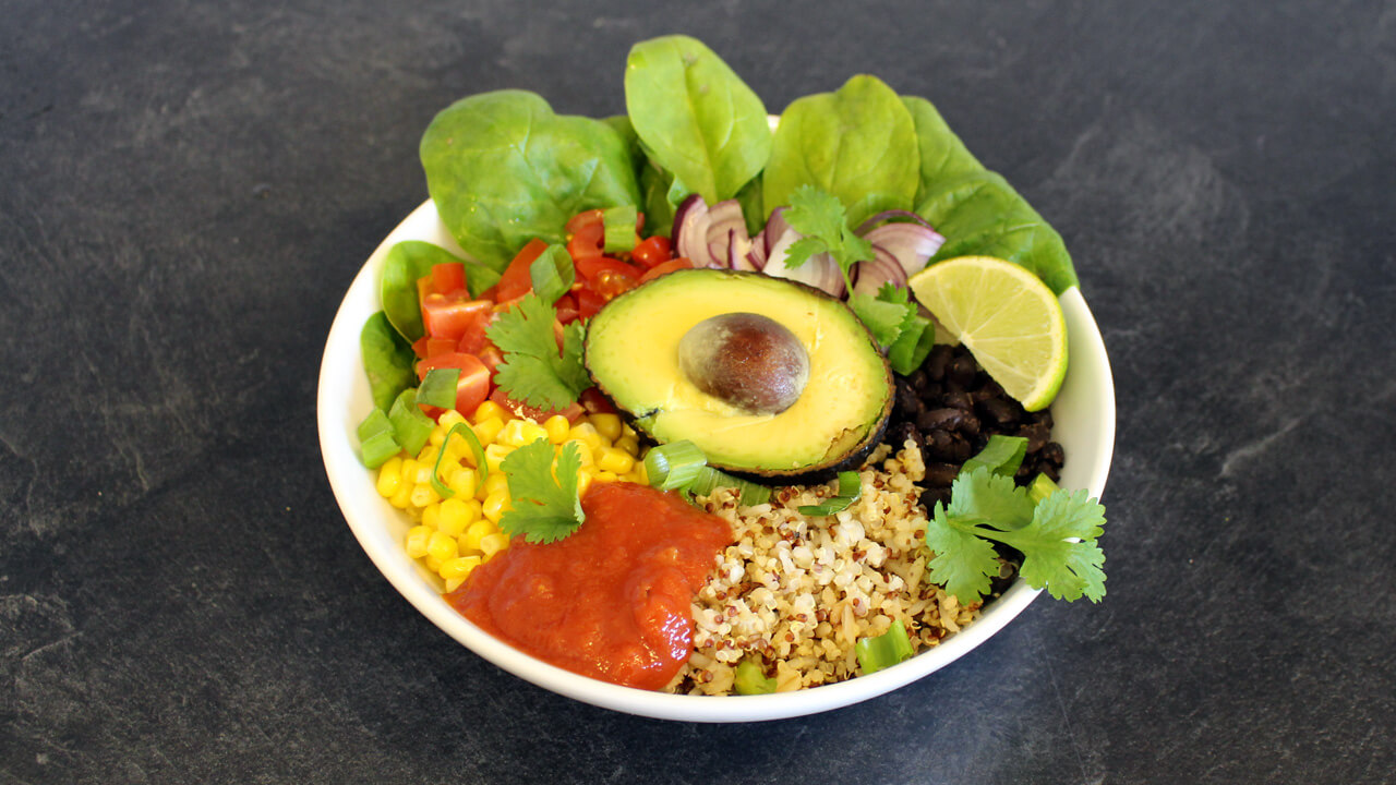 Burritobowl i gruppen Recept / Mexikanskt hos Green Warrior (recept_2018_09_18_24)