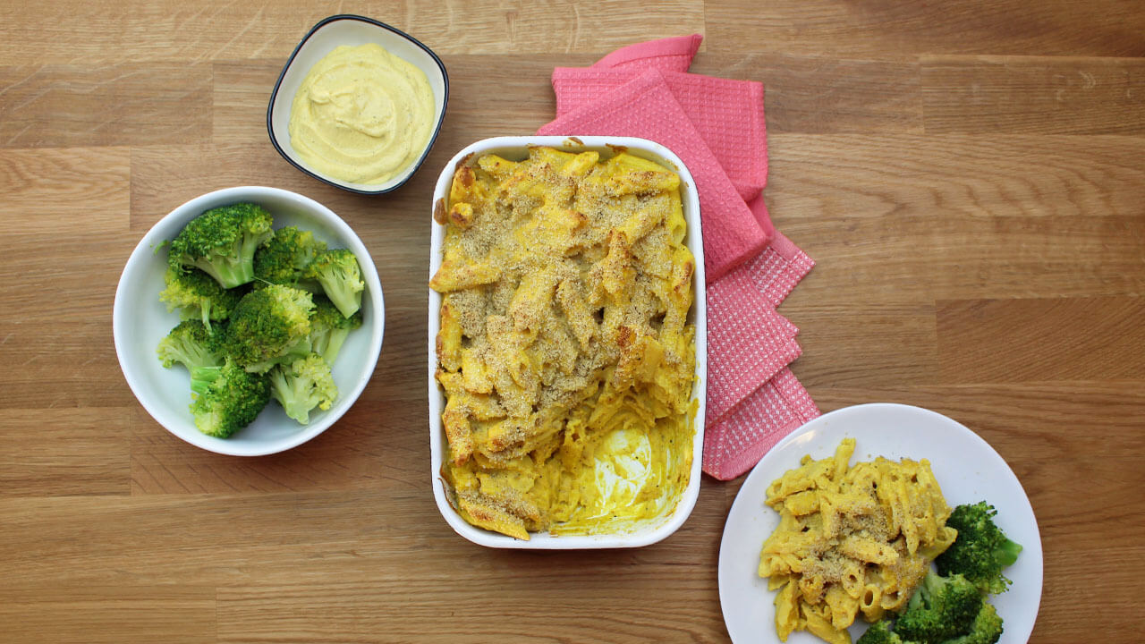 Recept på Baked mac 'n' cheese