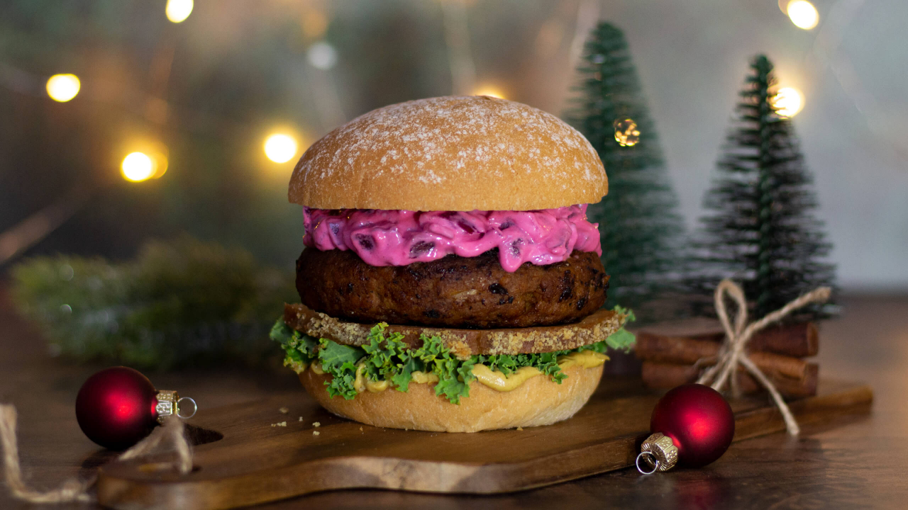 Recept på Green Warrior's Christmas Burger