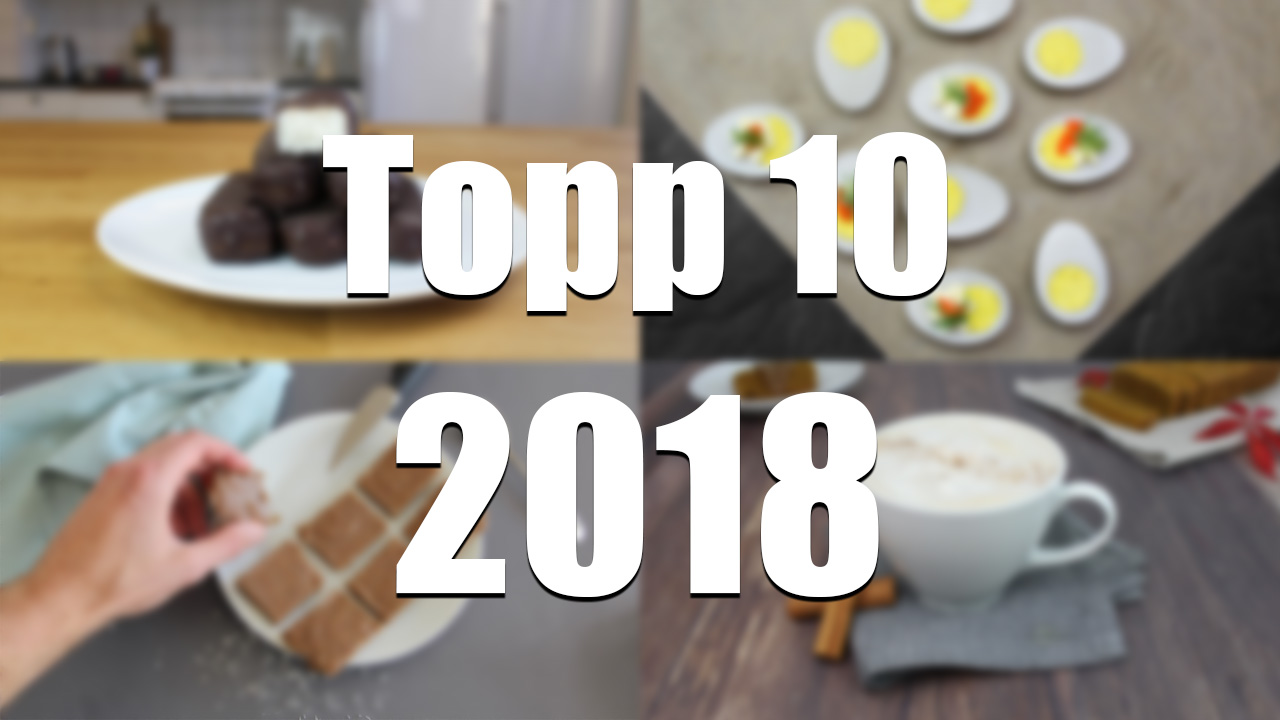 Best of 2018 - De 10 populäraste recepten i gruppen Recept / Best of hos Green Warrior (topp_10_2018)