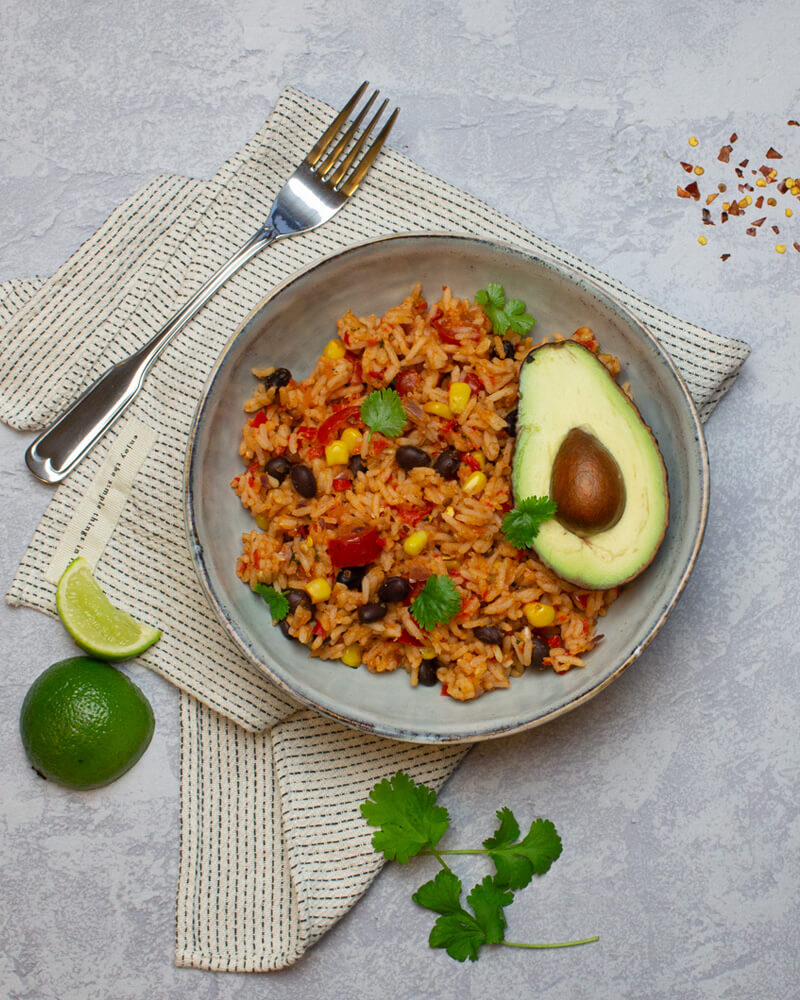 Recept på Mexican Fried Rice från Green Warrior