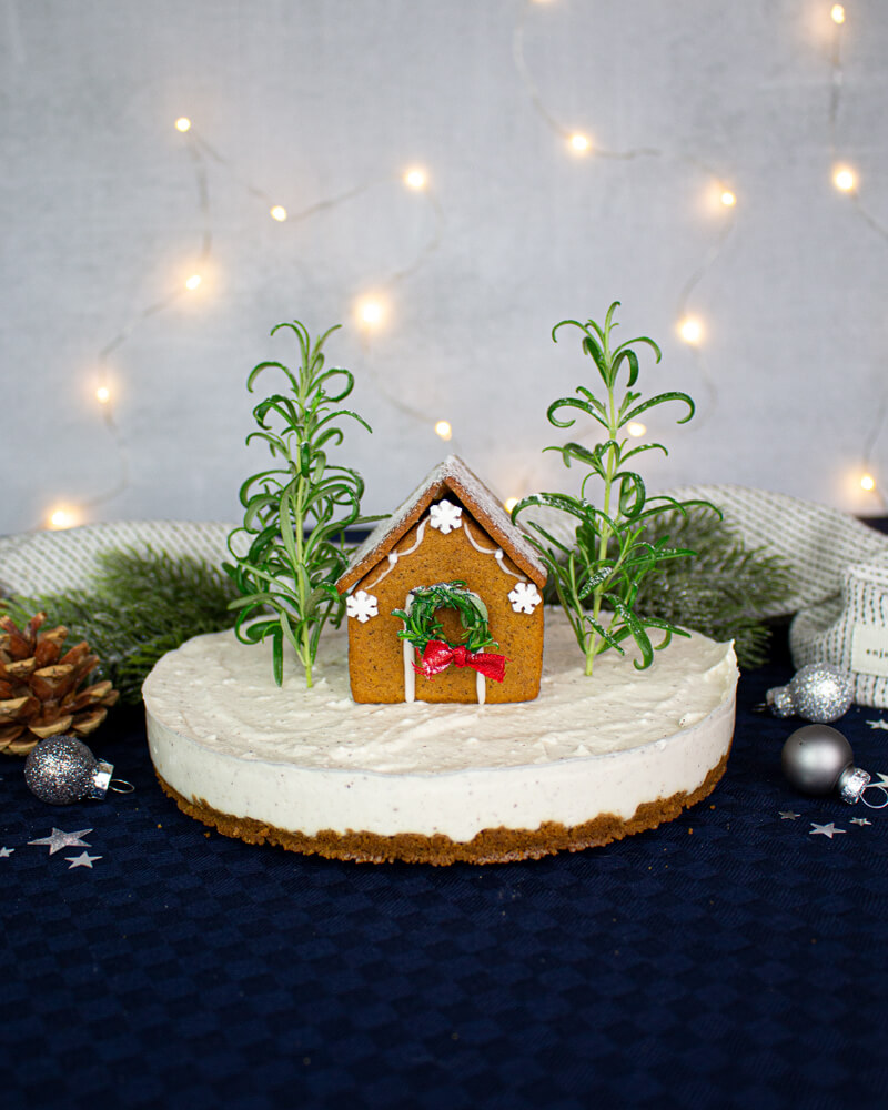 Recept på Pepparkakscheesecake från Green Warrior