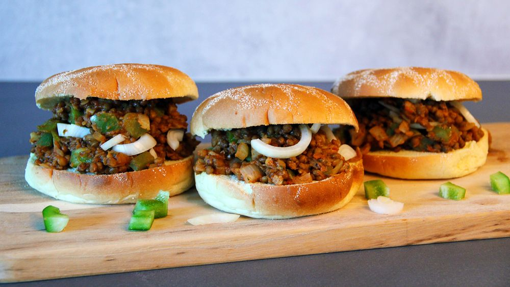 Recept på Veganska Sloppy Joes från Green Warrior