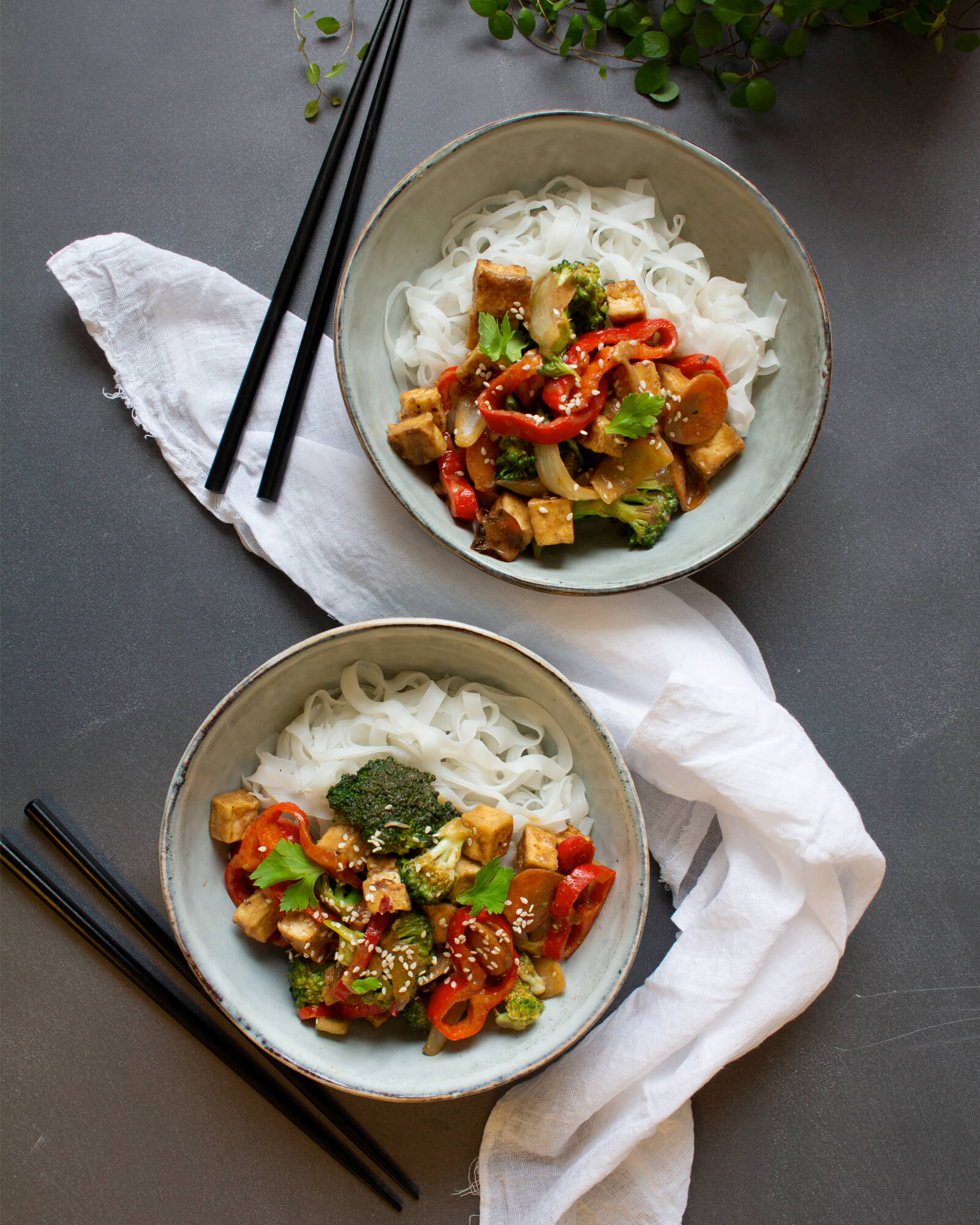 Recept på Mandelwok från Green Warrior
