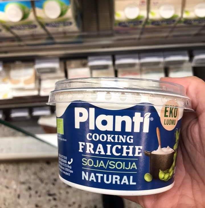 Vegansk creme fraiche och grekisk yoghurt från Planti
