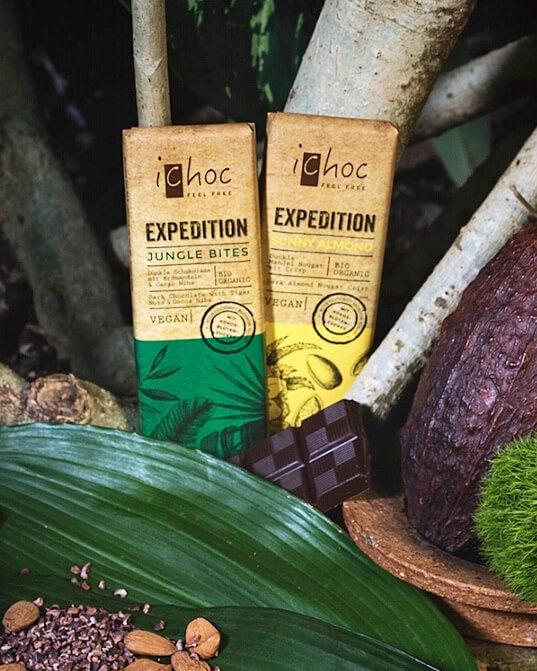 vegansk choklad från ichoc