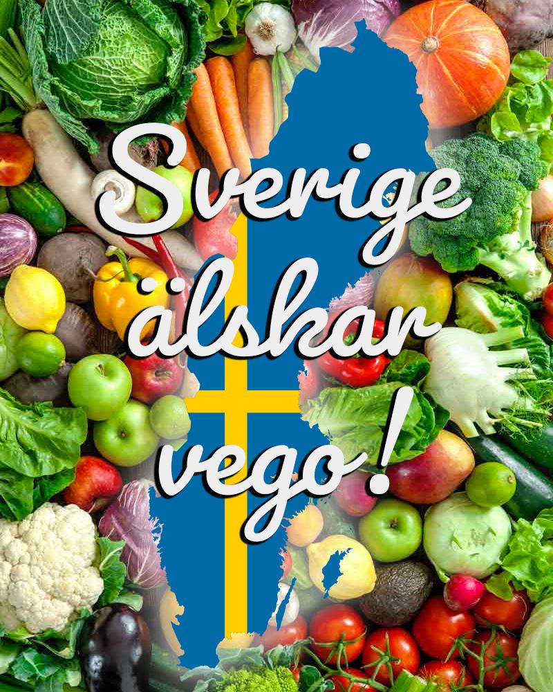 Sverige älskar vego