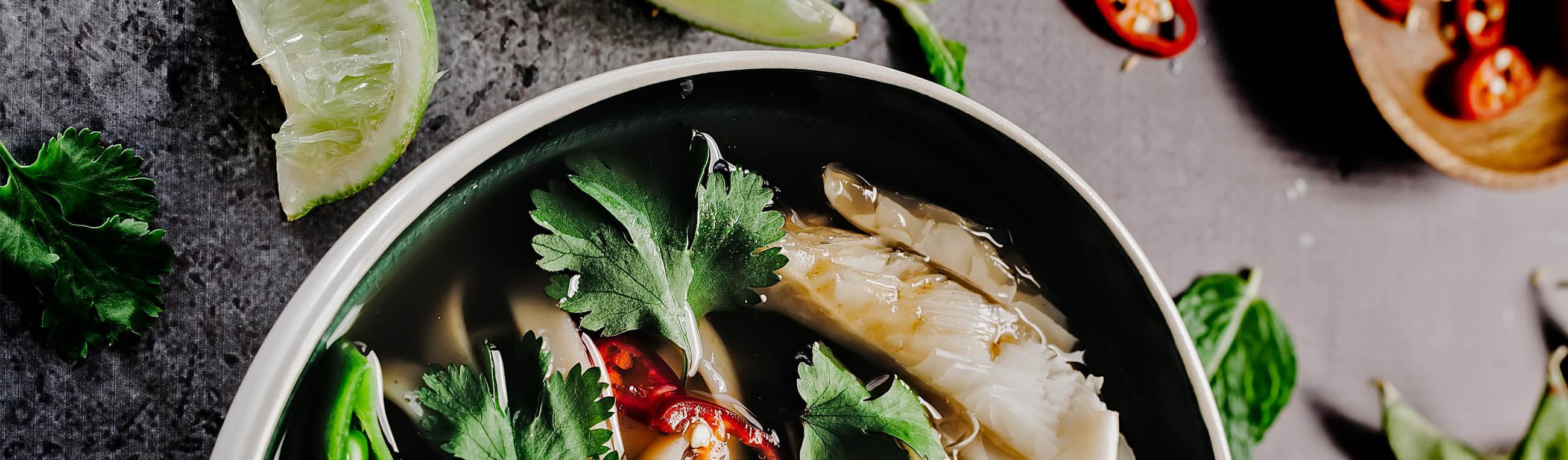 Recept på veganska asiatiska rätter