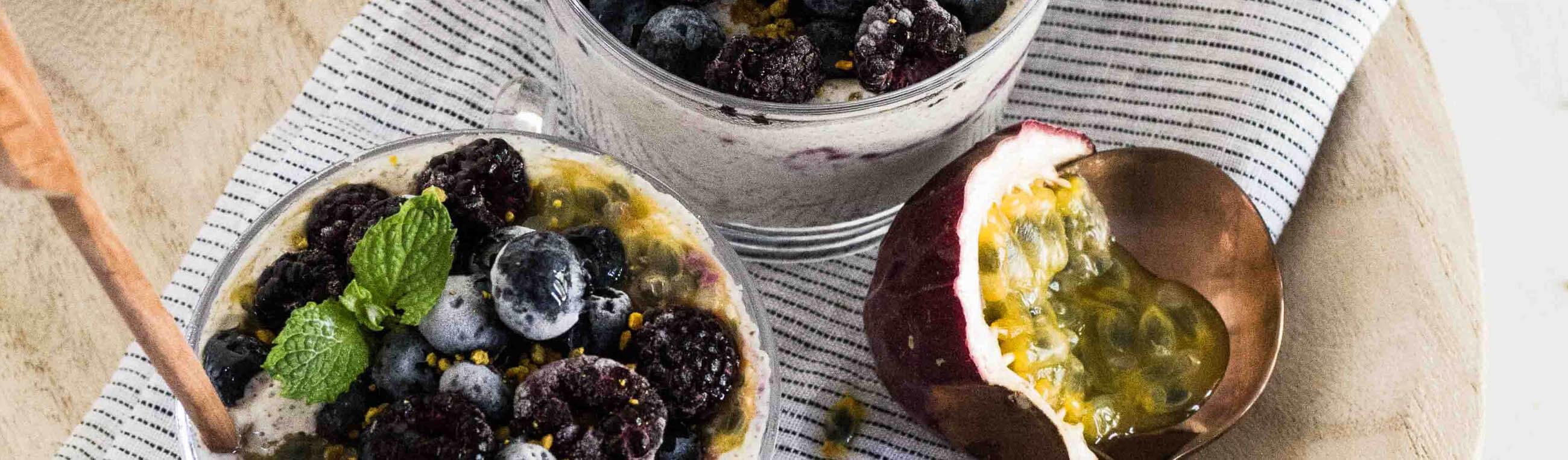 Recept på veganska snacks och mellanmål