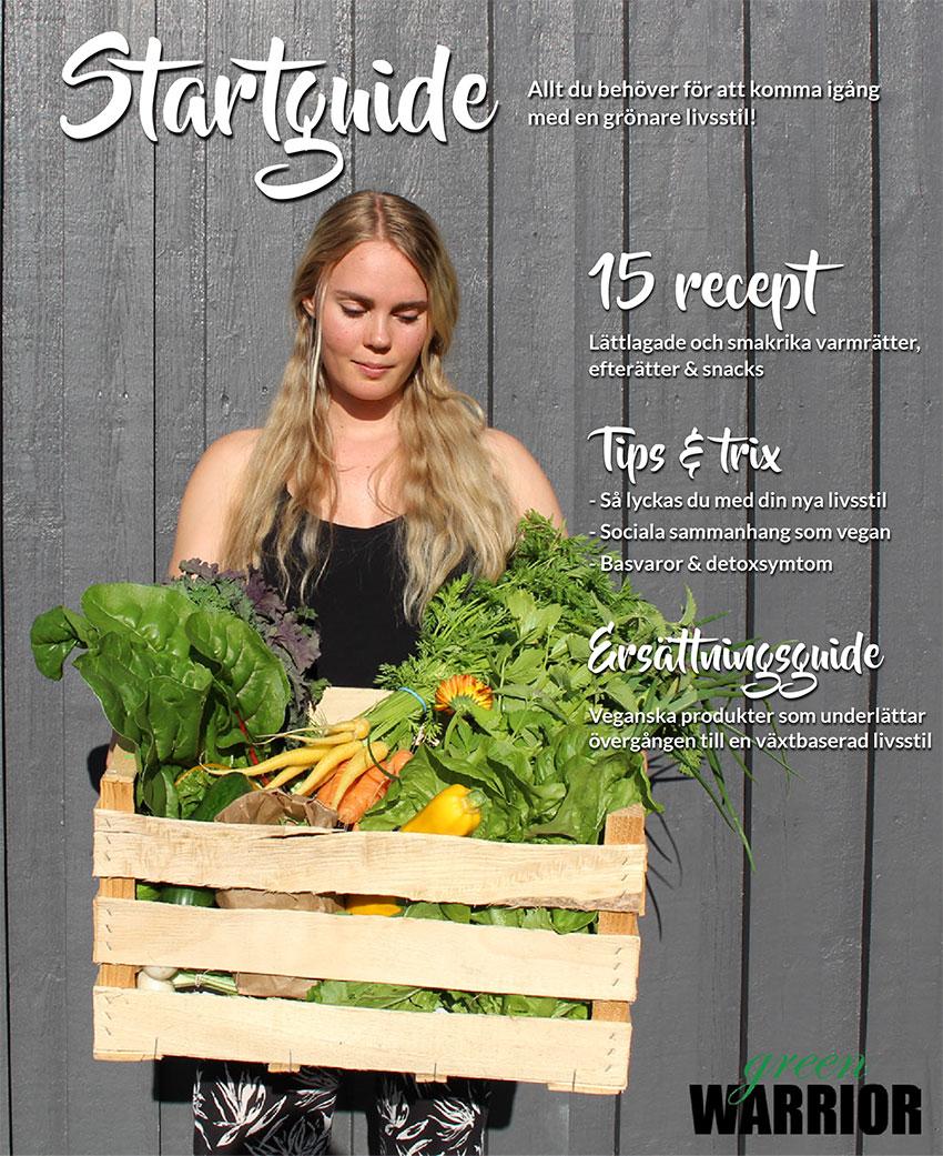 Green Warrior startguide - allt du behöver veta för att bli vegan