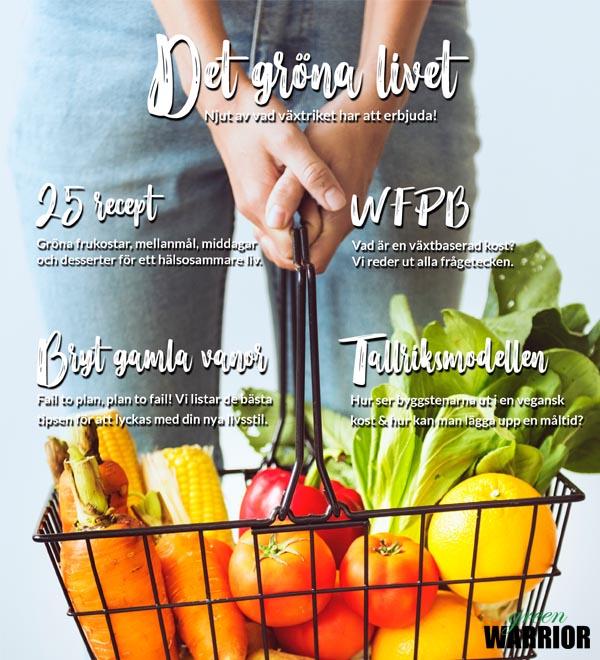 Det Gröna Livet - Gratis ebok med veganska recept från Green Warrior