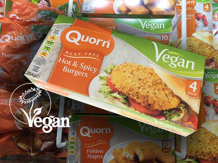 Veganska produkter från Quorn