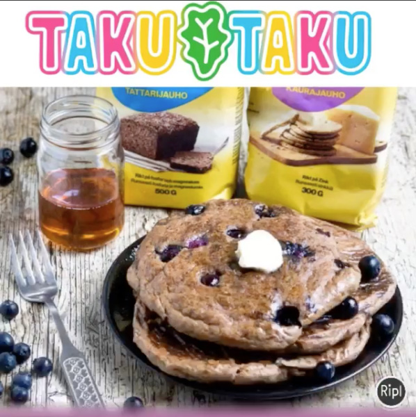 Vegansk brunch hos Taku Taku