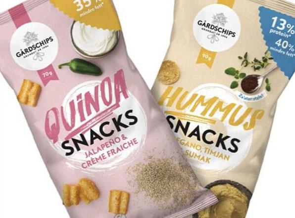 Nya veganska produkter från Gårdschips