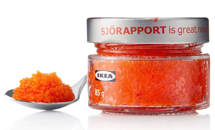 Vegansk kaviar från IKEA