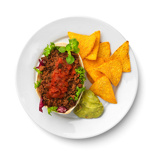 Vegansk tacos hos IKEA