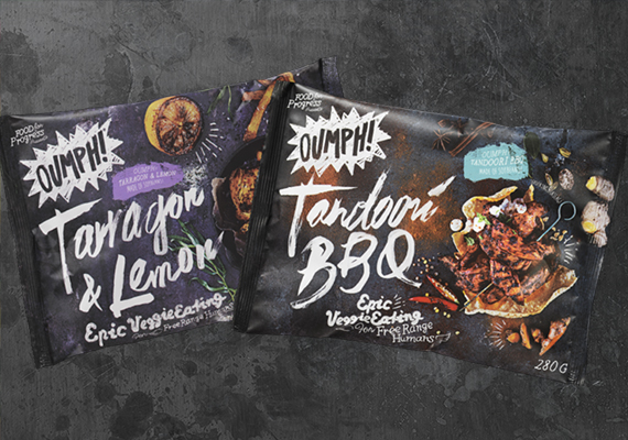 Oumph! Tandoori BB& och Tarragon & Lemon