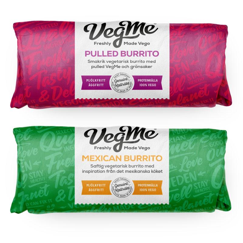 Veganska burritos hos 7eleven